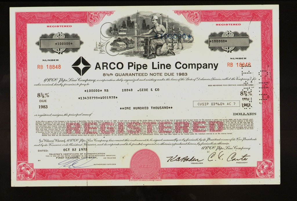 OIL 1943 THE BUCKEYE PIPE LINE COMPANY now Buckeye Partners L.P. Emmaus PA